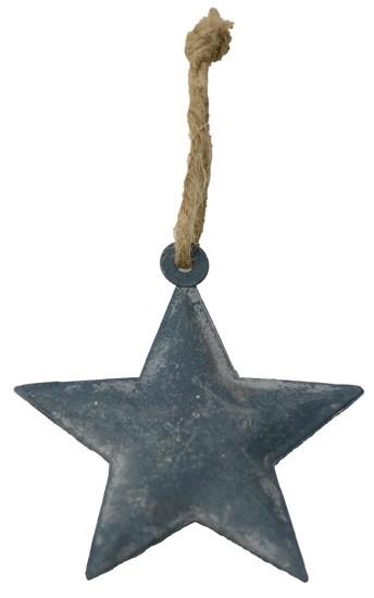 EMPORIO-8 Stern aus Eisenblech